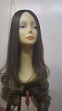 Malky Wig Sheitel 100% European Multidirectional Wig Brown 10-6-8 28""
