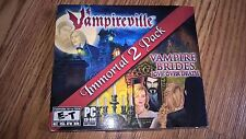 Vampireville & Vampire Brides Love Over Death Immortal PC Game -BRAND NEW-SEALED