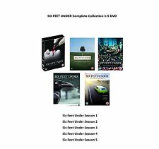 6 SIX FEET UNDER Complete Collection Series 1-5 DVD All Season 1 2 3 4 5 UK Rel