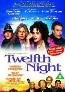TWELFTH NIGHT (1996) Region 4 [DVD] Helena Bonham Carter What You Will 12th 12