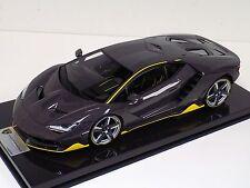 1/12 scale Looksmart Lamborghini Centenario Carbonium  Carbon Fiber Base