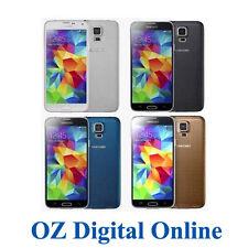NEW Samsung G900 Galaxy S5 V 4G LTE 16GB 16MP Next G S 5 Phone 1 Yr Au Wty