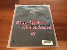 Active Faith in Jesus Name|Play - Blessed Is She Script - Black w/pink-Tech Tee