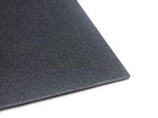 Kunststoffplatte Abs/asa Mittel Genarbt 2mm schwarz 300 X 200 Mm