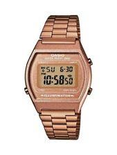 Casio digital watch retro unisex rose gold 50M illuminator B640WC-5AD UK Seller