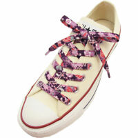Japanese Chirimen Shoelaces for Sneakers 117cm 46inch (Purple)