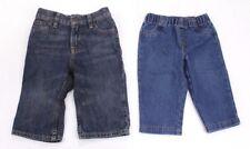 Toddler Boy Jeans Size 9 Months Blue Denim Lot of  2 Pants Mix Brands