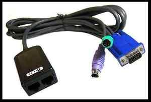 new !  IBM 1.5m KVM Conversion Cable PS/2 32P1649