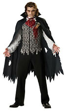 Vampire Count Dracula Gothic Horror Halloween Adult Men Costume XL