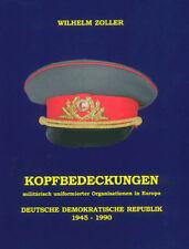 DDR-Uniform-Mützen