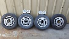 "Wheels Tires Tims 14"" 4 lug 108m Mustang T Bird Cougar Tempo Fairmont Focus Ford"