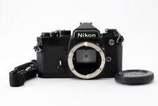 (Near Mint) Nikon FE Black 35mm SLR Film Camera Body w/Strap From Japan #69