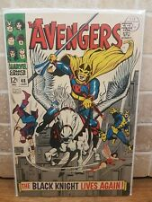 Avengers #48 January 1968 First BLACK KNIGHT End Game Marvel CGC higher grade?