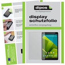 2x Vodafone Tab Prime 6 Schutzfolie matt Displayschutzfolie Folie dipos