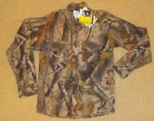 RANGER  CHILDS XL  CAMOUFLAGE HUNTING LONG SLEEVE BUTTON DOWN SHIRT  NEW W/T