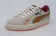 NEW PUMA Suede Gummy Bears Kids Sneakers Whisper White/Multicolor Sz US 7