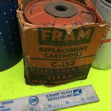 Ferguson; other machinery and car,  filter.    Fram, C-153.       Item:  4653