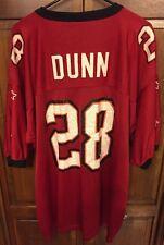 Starter Tampa Bay Buccaneers Warrick Dunn # 28 Football Jersey Men's 2XL XXL 54