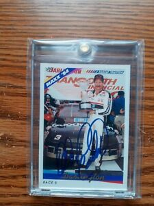 Dale Earnhardt Sr Auto autograph signed on card 1994 Maxx #211 (PSA authentic ⬇⬇