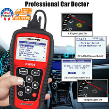 MS509 KW808 OBD2 OBDII EOBD Scanner Car Code Reader Tester Diagnostic