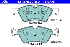 Bremsbelagsatz Scheibenbremse ATE Ceramic - ATE 13.0470-7220.2