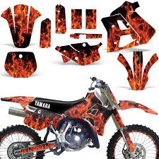 Yamaha Graphic Kit WR 250Z Dirt Bike Decal w/ Backgrounds WR250Z 1991-1993 ICE O