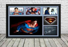 Superman Christopher Reeve Signed Poster Photo Print Poster Movie