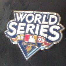 2009 WS World Series logo lapel pin NY New York Yankees Philadelphia Phillies