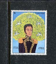 Colombia 922, MNH, Simon Bolivar 200th Birthday, 1983. x23152