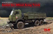 ICM 1/35 KamAZ 4310 Sovietico Sei ruote Esercito Camion # 35001