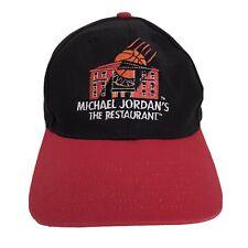 Vintage NIKE Michael Jordan The Restaurant Chicago Jumpman Snapback Hat 90s RARE