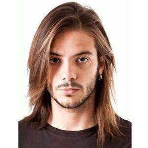 Männer glatt haare lange So bleiben