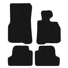 BMW 4 Series Coupe 2013 Black Floor Rubber Tailored Car Mat 3mm 4 Piece Set