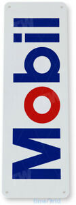 Mobil Oil Gas Sign, Gas Station, Garage, Auto Shop, Retro, Rustic Tin Sign A498