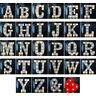 Alphabet LED Lettre Lumières Lumière LED Plastique Blanc Lettres Debout/Suspendu