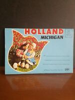 Holland Michigan vintage informational brochure