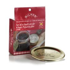 Kilner 12 70mm Lid Seals for Screw Top Vacuum Preserve Jars 399