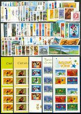 France Année complète 2004 + Carnets NEUF ** LUXE