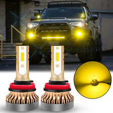 JDM Yellow Fog Light LED Bulbs For Toyota Tacoma 2016-2020 Tundra RAV4 2013-2019