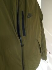 Nike Sportswear Excellent Quality Men's Hooded Jacket Size 2XL Olive