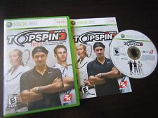Microsoft Xbox 360: Top Spin 3 complete in case & tested