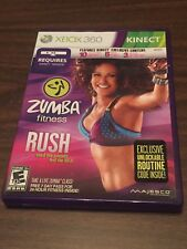 Zumba Fitness Rush Xbox 360 Kinect, Dance, Workout, Cardio, EXCELLENT CONDITION