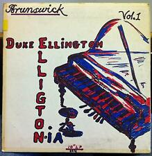 "10"" 1954 DUKE ELLINGTON ellingtonia vol 1 VG+ BL 58002 Hand Drawn Custom Cover"
