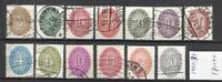 Q697-LOTE SELLOS ALEMANIA REICH SERVICIO OFICIAL 1927/1934 USADOS,14,00€.LOS DE