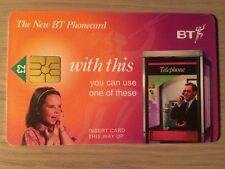 BT Phonecard, £2 value, Used