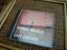 ORIGINAL MUSIC ALBUM CD GEORGE MICHAEL SONGS FROM THE LAST CENTURY