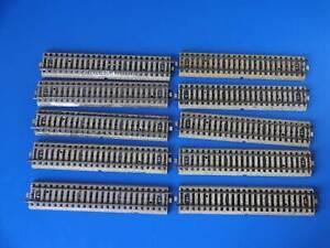 MARKLIN H0 - 5106 - 10x  STRAIGHT RAILS - M Track (45)