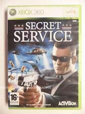 jeu SECRET SERVICE sur xbox 360 en francais game spiel juego gioco complet