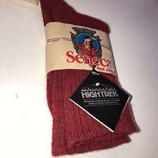 Seneca Red Jacket Red Wool/orlon Socks Hunting Cold Weather