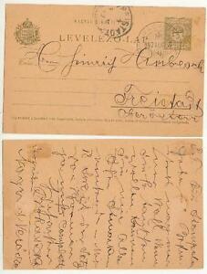 Ungarn Postkarte 1907 nach Freistadt #l498